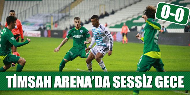 Timsah Arena'da sessiz gece: 0-0
