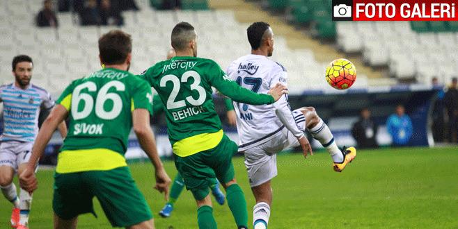 Bursaspor – Fenerbahçe maçından kareler