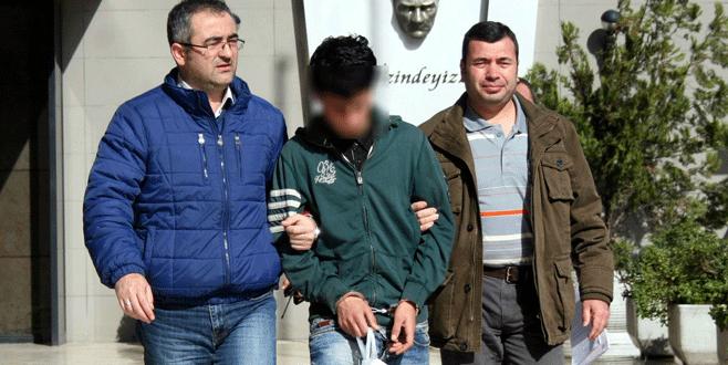 Suriyeli kapkaççı kameradan kaçamadı!