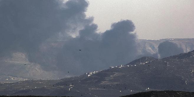 Esad rejimi ile Rusya Lazkiye kırsalına saldırıyor