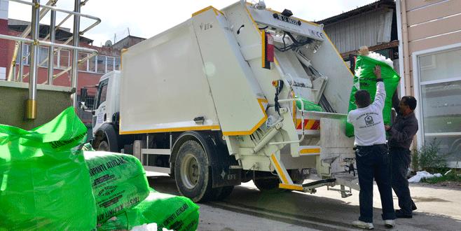 108 bin ton atık toplandı