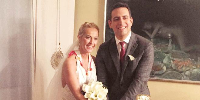 Helin evlendi