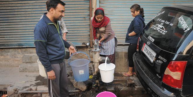 Hindistan'da 10 milyon kişi susuz