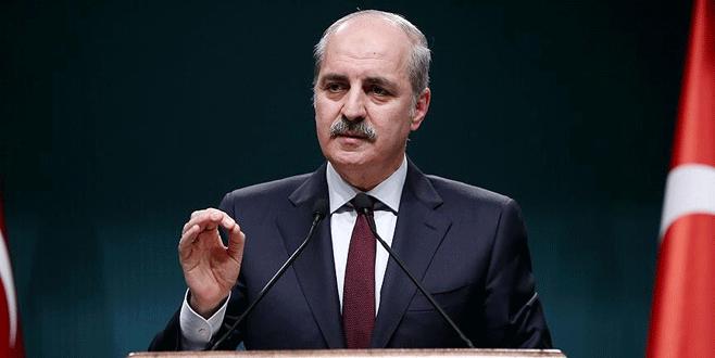 Numan Kurtulmuş: PYD-PKK bağlantısı ortaya konuldu