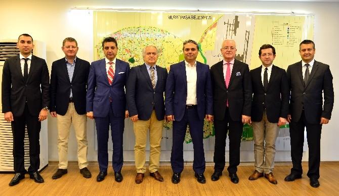 ANSİAD Üyeleri Başkan Uysal'ı Ziyaret Etti
