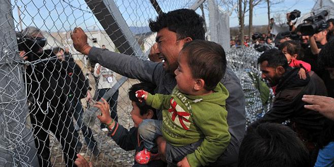 Komşu sığınmacıları sınırdan uzaklaştırıyor