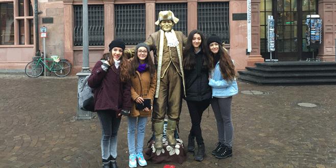 Finalliler'den Almanya ziyareti