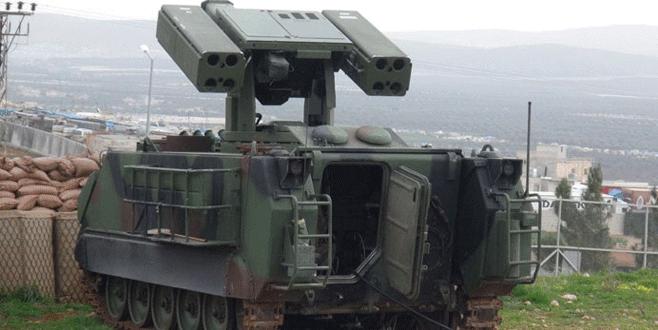 Mehmetçik Suriye sınırını böyle koruyor