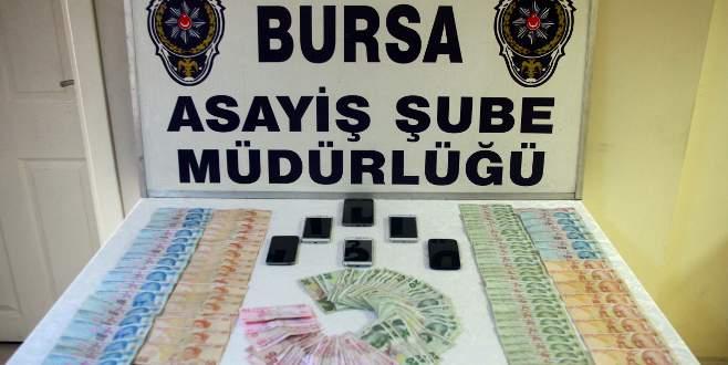 Bursa'da yasa dışı bahis operasyonu