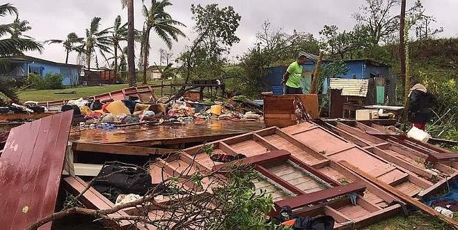 Fiji'deki kasırgada ölü sayısı 42'ye yükseldi