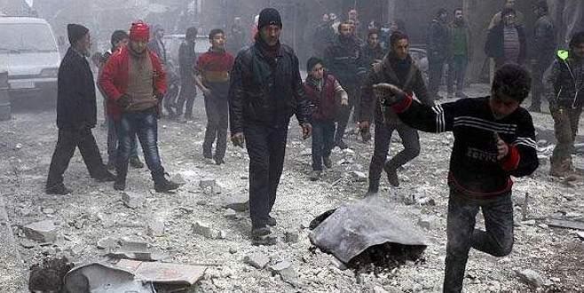Rus uçakları sivilleri vurdu: 4 ölü