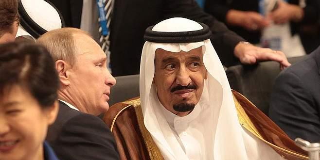 Putin ve Suudi Kralı telefonda görüştü