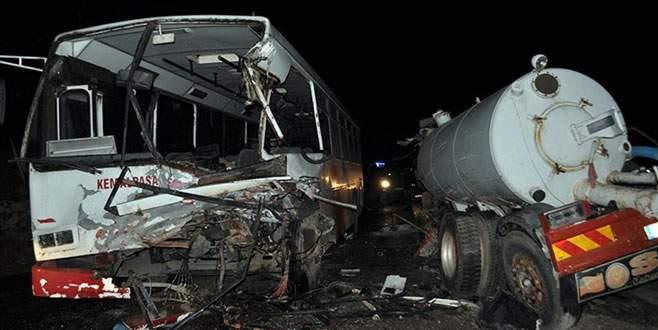 Feci kaza: 24 yaralı