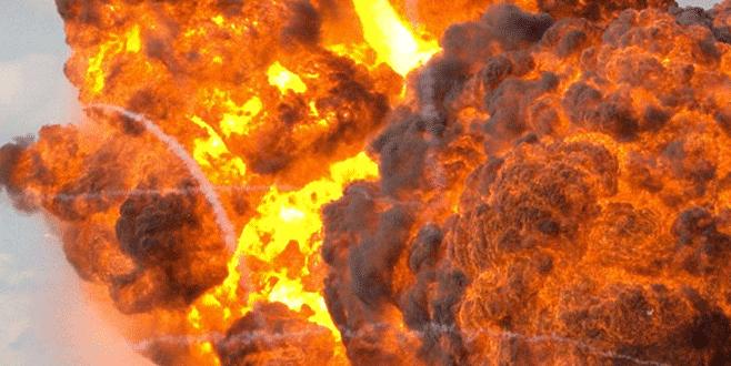 Santral inşaatında patlama: 7 ölü