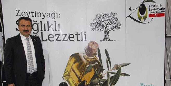 Türk zeytini Dubai'de tanıtıldı