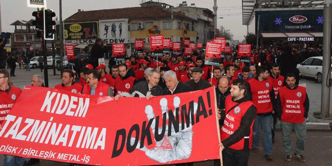 Kiralık işçiliği protesto ettiler