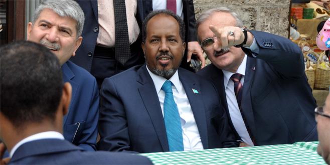 Somali Cumhurbaşkanı Bursa'yı gezdi
