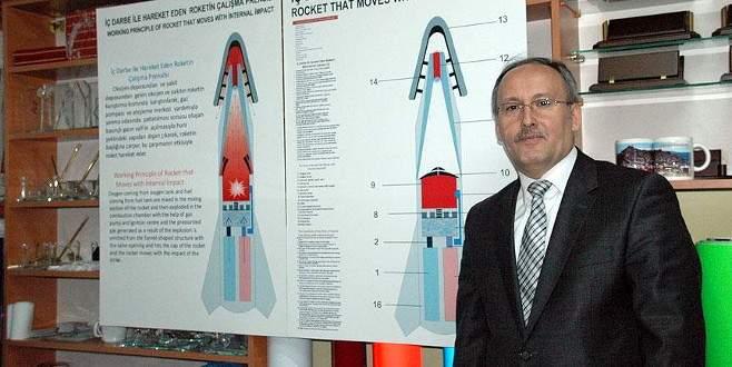 Okulda yaptığı deney uzay roketine ilham oldu