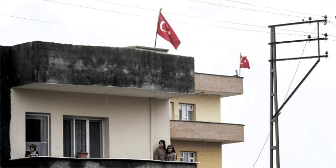 Şırnak'ta terör operasyonuna bayraklı destek