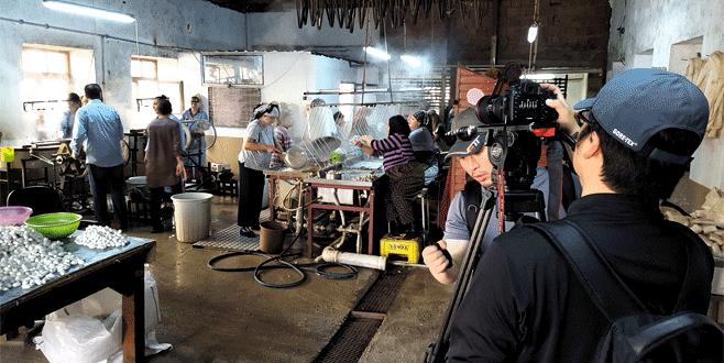 Çinliler belgesel için Bursa'da
