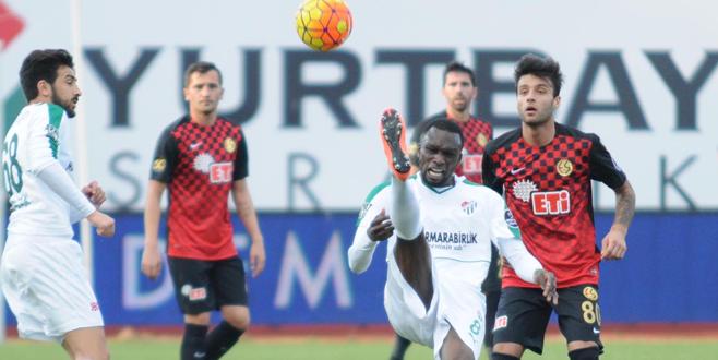 Eskişehirspor 0-1 Bursaspor (Maç Sonucu)