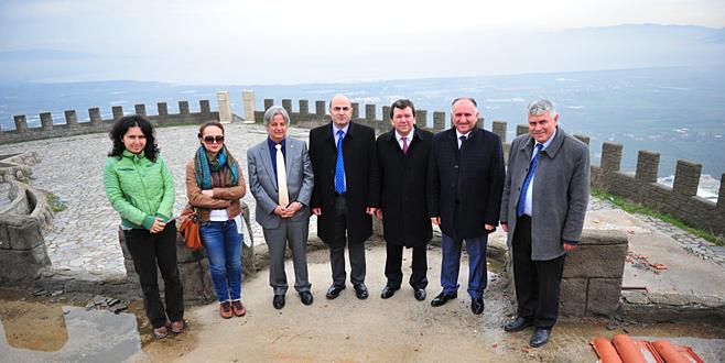 Kale tesisleri için 10 milyon TL'lik proje