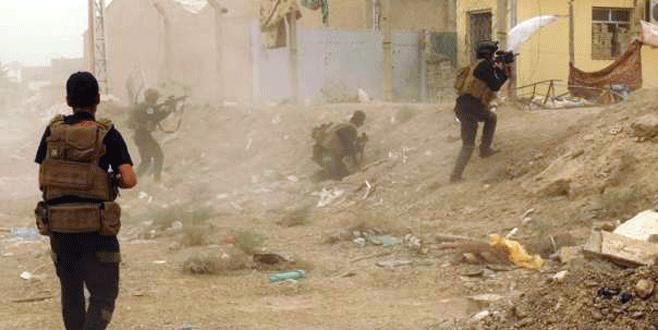 IŞİD çekildi