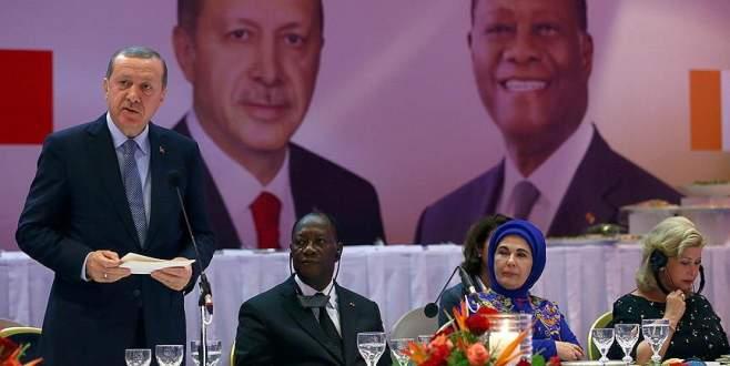 Erdoğan: Abidjan göçmenler için güvenli bir liman olmuştur