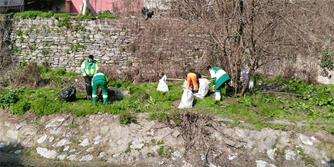 Bursa'da temizlik zamanı