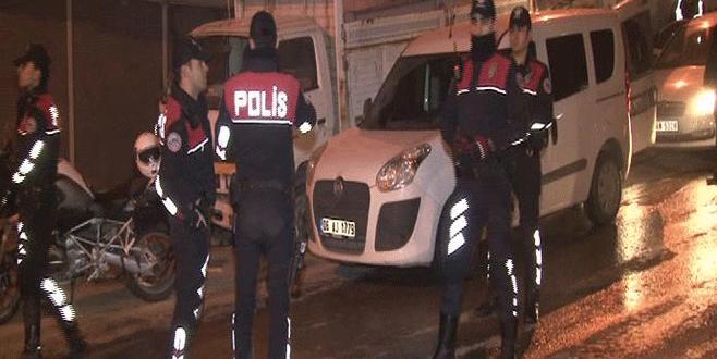 'Başkent'te 3 bin 250 polisle gece uygulaması