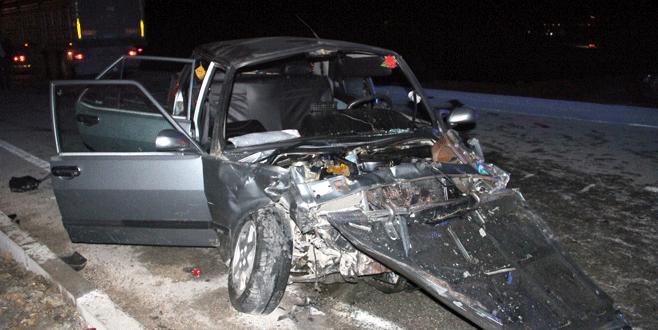 Feci kaza: 2 ölü, 5 yaralı