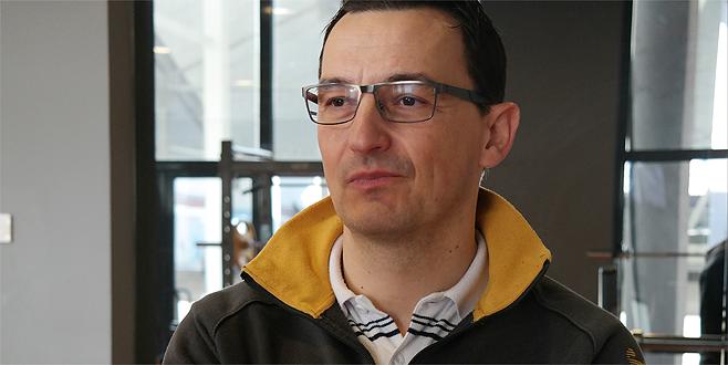 Bursa'da Türk dostu mutlu bir Sırp
