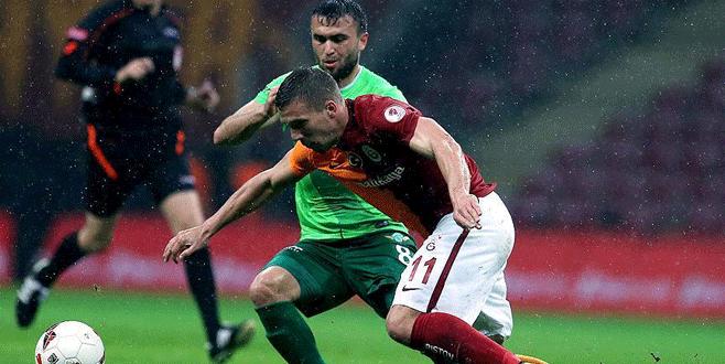 Galatasaray 1-1 Akhisar Belediyespor