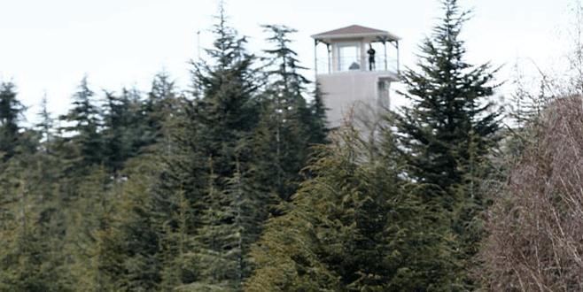 Köşk'te 'sniper' kulesi
