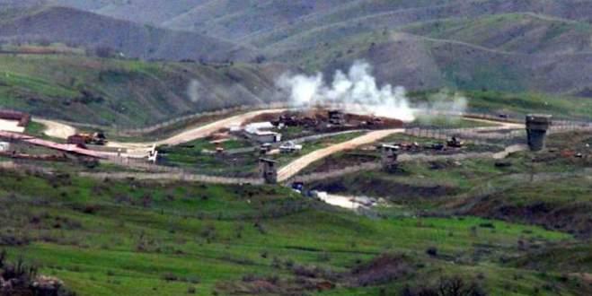 Askeri üs bölgesine havanlı saldırı
