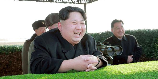 Kim'den BM'ye füzeli yanıt