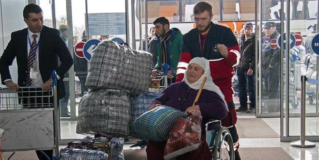 Ahıska Türklerinin ikinci kafilesi Türkiye'de