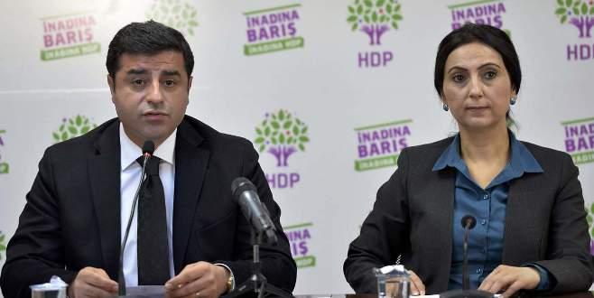 Demirtaş dahil 5 HDP'linin fezlekeleri Başbakanlık'ta