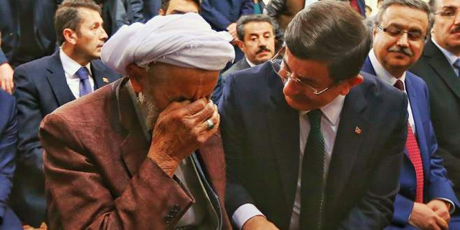 Davutoğlu'dan Silopi'ye sürpriz ziyaret