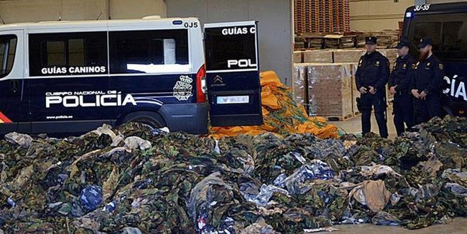 İspanya'da IŞİD tekstil