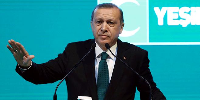 Erdoğan: 'Suriye'nin kuzeyinde bir şehir kuralım'