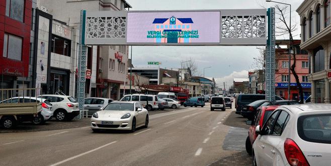 Yıldırım'dan Vişne Caddesi'ne destek