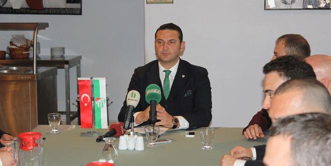 'Bursaspor gibi bizi de destekleyin'