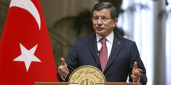 Davutoğlu İran'da: 'Yeni bir dönemin başlangıcı'