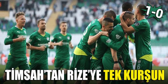 Timsah'tan Rize'ye tek kurşun: 1-0