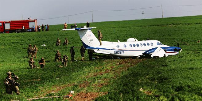 ABD uçağından Erbil'e zorunlu iniş