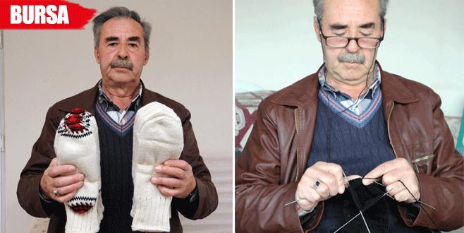 Erkeklerin 90 yıllık 'çorap örme' geleneği bitme noktasında