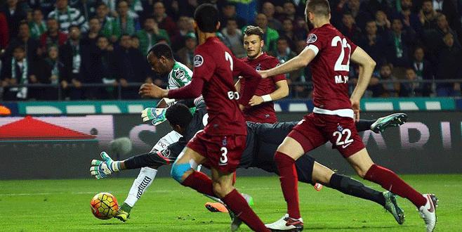 Trabzonspor Konya'da kaybetti