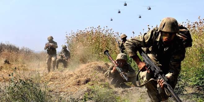Dağlıca'da çatışma! Silahlarını bırakıp kaçtılar!