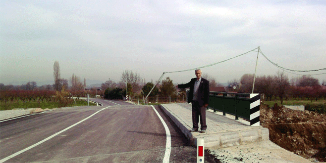 'Kaza köprüsü' yenilendi